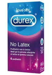 DUREX NO LATEX 6 PROFILATTICI