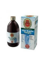 Slim kombu vaniglia 500 ml - metabolismo,menopausa,drenante e depurativo